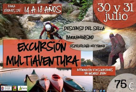 Excursión Descenso Sella logo Avnetura Norte