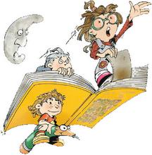libro volando c niños